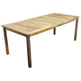 Gartentisch Holz Akazie geölt 200x90 cm
