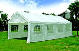 Garten Pavillon Gartenzelt Partyzelt mit Seitenwänden  in 4 x 8 Meter