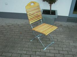 Gartenstühle Holz Robinie Gestell verzinkt zwei Stück