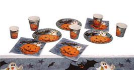 Halloween Party Geschirrr für 6 Personen