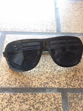 Halfshade Shutter Shades Rahmen schwarz Gläser schwarz