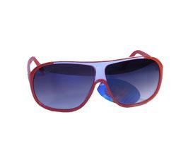 Klassische Sonnenbrille im Millionaires Style in rot oder schwarz