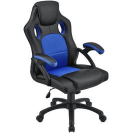 Schreibtischstuhl Drehstuhl Bürostuhl in blau