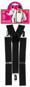 Hosenträger in schwarz oder weiß