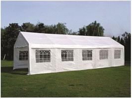 Garten Pavillon Gartenzelt Partyzelt mit Seitenwänden  in 4 x 10 Meter