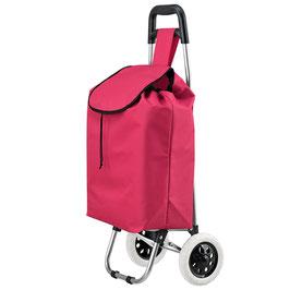 Einkaufstrolley klappbar in rot