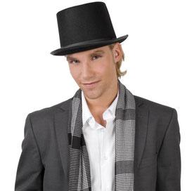 Zylinder Hut in schwarz Größe 57