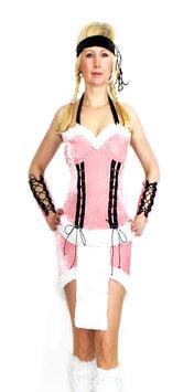 Indianerin Squaw native American in rosa Größe 34-36