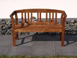 Gartenbank Bank Akazien Holz 120 cm