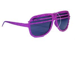 Halfshade Shutter Shades Sonnenbrille in pink mit schwarzen Gläsern