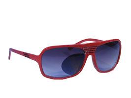 Trendige Sonnenbrille im Millionaires Style in rot oder weiß