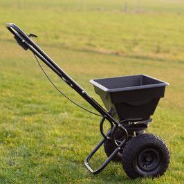 Streuwagen Universalstreuer Streuer für Garten 15 Liter Fassungsvermögen