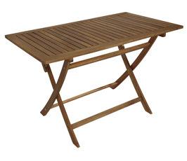 Gartentisch Holz Akazie 120cm