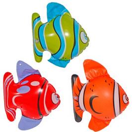 3 Aufblasbare Fische 20 cm