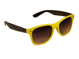 Sonnenbrille im Wayfarer Style mit Sternchen