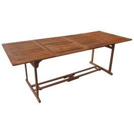Gartentisch Tisch 220 x 90 x 74 cm