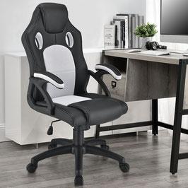 Schreibtischstuhl Drehstuhl Bürostuhl in weiß