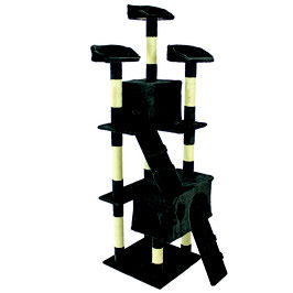 Kratzbaum schwarz  170cm  Modell 3