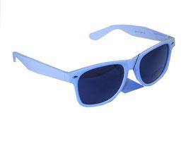 Sonnenbrille im Wayfarer Style in weiß