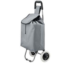 Einkaufstrolley klappbar in grau