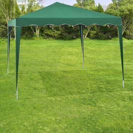 Faltpavillon 3 x 3 Meter in grün mit Tasche