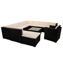 Polyrattan Gartenmöbel Lounge XXL