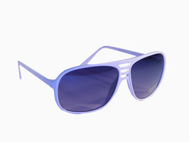 Hippe Sonnenbrille im Millionaires Style in rosa