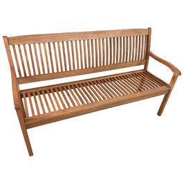 Gartenbank 3-Sitzer Akazie 157 cm