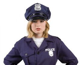 Blauer Polizeihut Police Polizei Größe 58