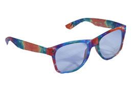 Trendige Brille im Wayfarer Style mit klaren Gläsern