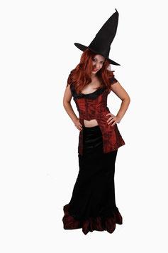 Gothic Braut Königin Vampir Größe 34-36