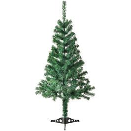 künstlicher Weihnachtsbaum mit Ständer 150 cm hoch