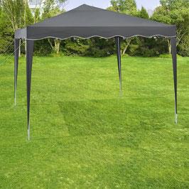 Faltpavillon 3 x 3 Meter in grau mit Tasche