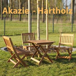 Kindersitzgruppe Gartengarnitur Akazien Holz 4 teilig