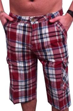 Cargo Shorts in rot Größe 28