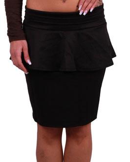 Eleganter Minirock Rock Röcke in schwarz Größe 32-34