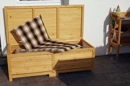 Gartentruhe Gartenbox aus Kiefernholz 140 cm