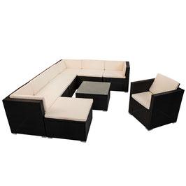 Polyrattan Gartenmöbel Lounge XL