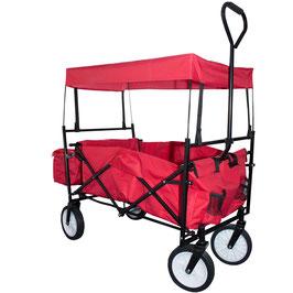 Bollwerwagen Handwagen Transportwagen in rot
