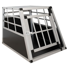 Hundetransportbox in Alu Größe M