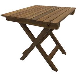 Beistelltisch Holz Akazie geölt 38x38 cm