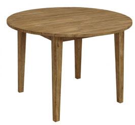 Gartentisch Tisch Holz Akazie rund Durchmesser 110 cm