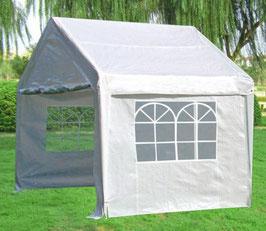 Garten Pavillon Gartenzelt Partyzelt mit Seitenwänden  in 3 x 3 Meter