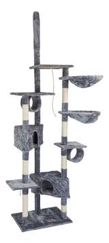 Kratzbaum in grau 230 cm Modell 11