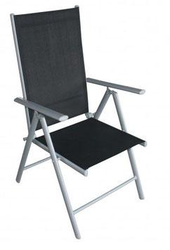 Klappsessel Stuhl aus Aluminium 4 Stück