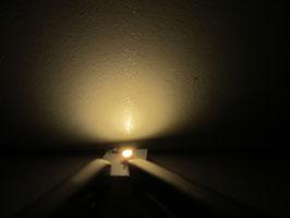 LED Häuserbeleuchtungen warmweiss mit Aluminium Trägerkörper (ohne Anschlusskabel)
