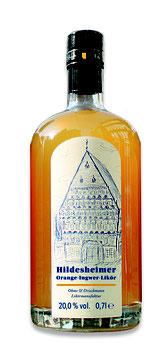 Orange-Ingwer-Likör, 700 ml