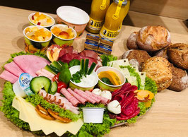 Bunte Frühstücksplatte (ab 3 Personen)