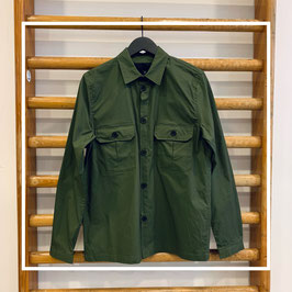 Clean cut copenhagen ripstop stretch shirt army