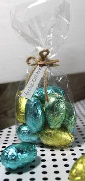 """Geschenktüte mit """"frohe Ostern-Anhänger"""""""